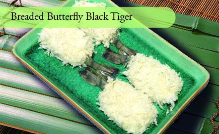 Breaded Butterfly Black Tiger