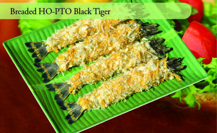 Breaded HO-PTO Black Tiger