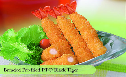 Breaded Pre-fred PTO Black Tiger
